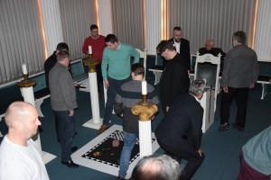Vorbereitung Tempelarbeit